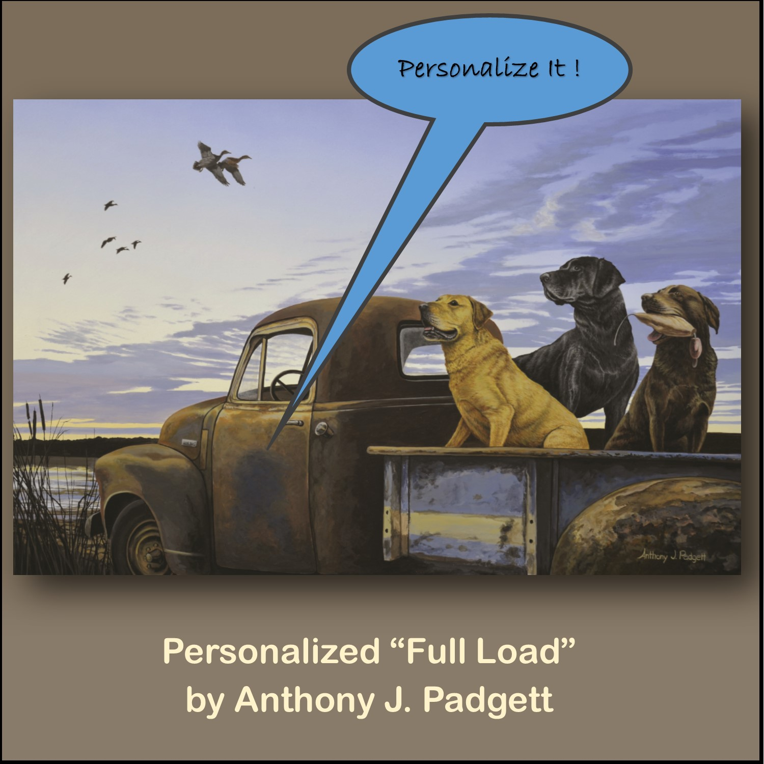 Personalized - Full Load - truck