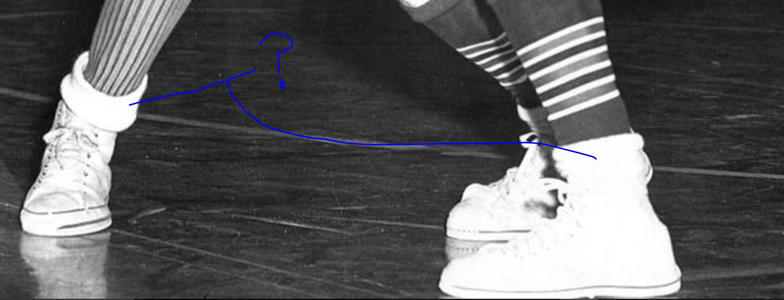 rolled-white-socks