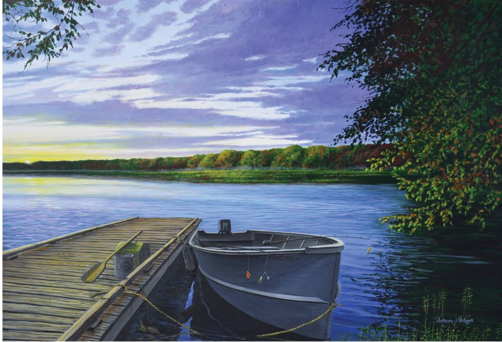 """Let's Go Fishing"" 20""x30"" - $4500"